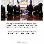 humor-times-dc-crap-Georgia-Grand-Wizard-Kemp-Signs-2021-jimcrow-act-into-law