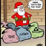 Santa-Recycle-Bag