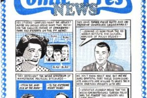 Comic Press News covers, 1992