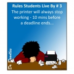 Rules students live by 3