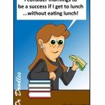 lunchtime milestone