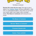 Humor Times App: 'The News in Cartoons!' 01