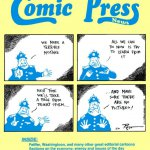 Very first issue of the Comic Press News, now called the Humor Times. April, 1991.