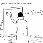 Dracula on Instagram
