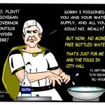 Rick Snyder Washes his Hands