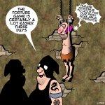 Torture cartoon
