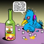 Tequila cartoon