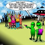 Aliens cartoon