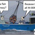 Crazy Fish by Bob the GroanUP, Robert Lane, Bay Shore, NY