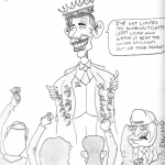 Eva Haque (13 years old) Political Cartoon