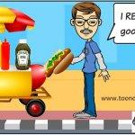 Hot dog by Bob the GroanUP, Robert Lane, Bay Shore, NY
