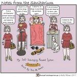 Kelly Wilson Notes from the Sanitarium Title: My Self-Sabotaging Reward System
