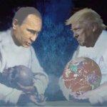 Putin and Trump by G. Prentice, Apache Junction, AZ