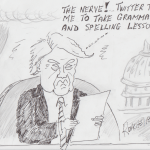 trump reads a letter from  twitter