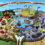 George W. Bush Presidential Librarium plans revealed!