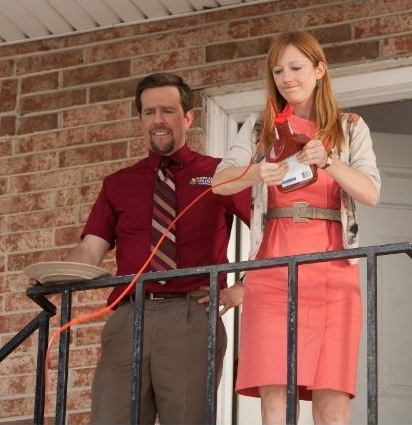 Ed Helms and Judy Greer in Jeff, Who Lives at Home