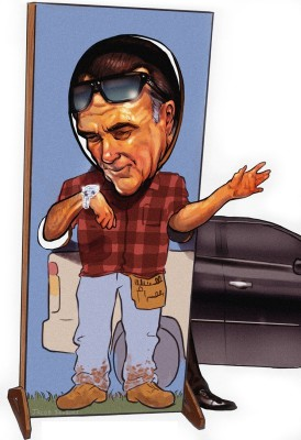A Tale of Two Romneys. Republican candidate Mitt Romney tries hard to seem normal.