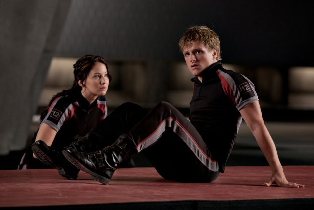 Hunger Games - Jennifer Lawrence & Josh Hutcherson