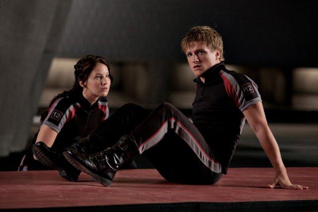 Hunger Games - Jennifer Lawrence & Josh Hutcherson