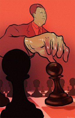 WEB pawn, art by Jacob Sanders