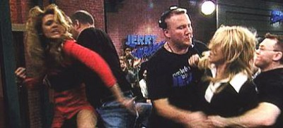 Jerry Springer Guests Fighting