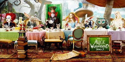 A tea party with lots of strange characters -- sound familiar?
