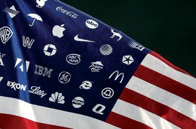 Legislation for auction, Corporate America flag