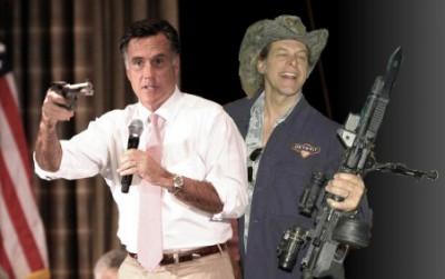 Ted Nugent - Mitt Romney - guns