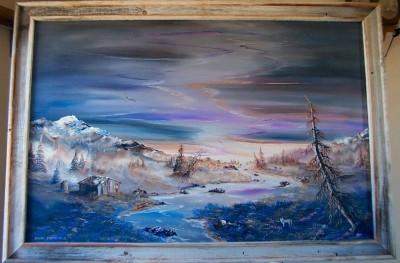 Art, A piece by Steven C. White, defender of free speech