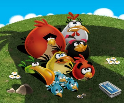 Angry birds - Republican primary race