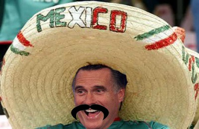 Birthers cite photo of Romney in a sombrero