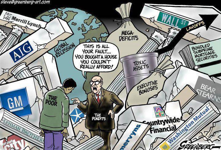 All your fault - Steve Greenberg cartoon