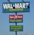 Walmart Institutes Dress Code for Shoppers