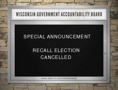 Recall Elections
