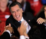 Romney, Flush With Success, to Extend World Tour