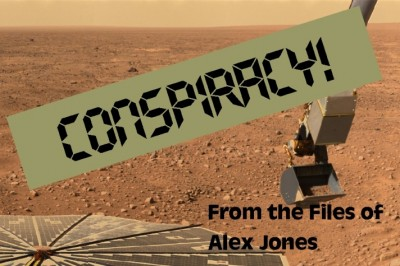 Alex Jones Calls Mars Landing a Fake