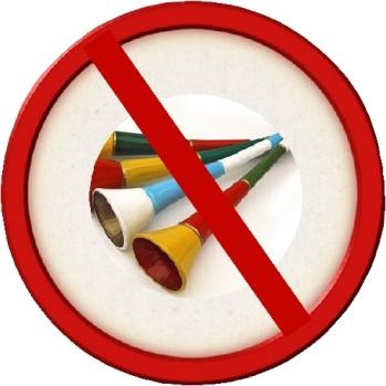 Vuvuzela Banned