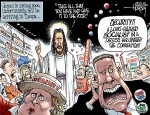 Jesus Announces Run in 2012 Election, Conservatives Have a Conniption