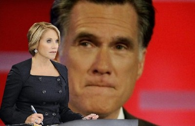 Romney Calls Foul on Choice of First Presidential Debate Moderator Katie Couric