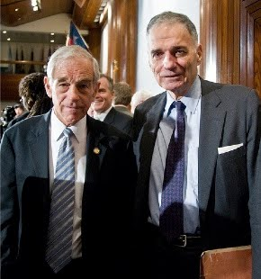 Ron Paul, Ralph Nader, third party candidates