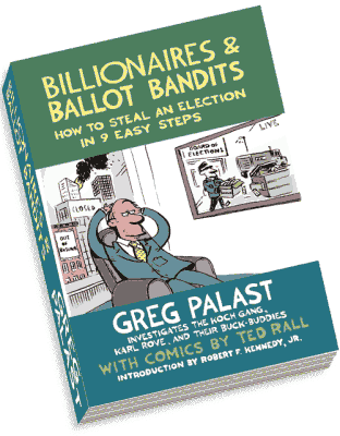 Book review - Billionaires & Ballot Bandits by Greg Palast
