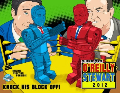 Bill O'reilly & Jon Stewart Will Also Face off in New Comic Book