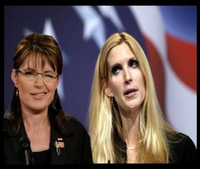 ann coulter, sarah palin, retard