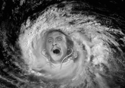 Frankenstorm caused by campaign