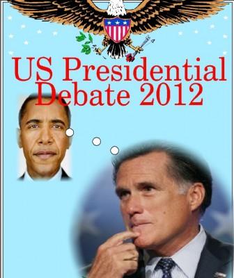 romney, obama, debate