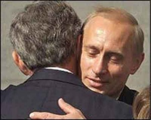 dictator putin and bush