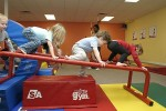 Volunteering for Fun at the Toddler Gym