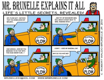 Mr Brunelle Explains It All by Robert Waldo Brunelle