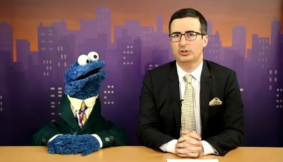 Political Humor Videos, Jon Oliver, Cookie Monster