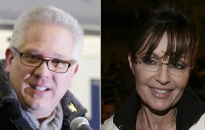 Glenn Beck and Sarah Palin